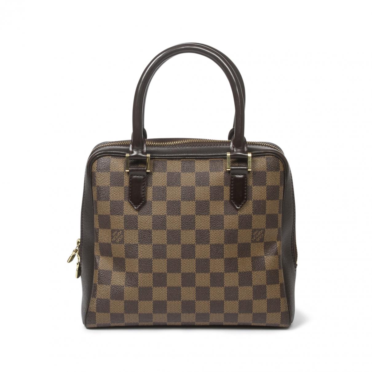 Louis Vuitton Brera Handtasche in  Braun Leder