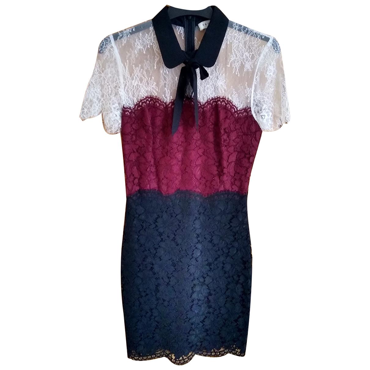 Sandro \N Kleid in  Bunt Synthetik