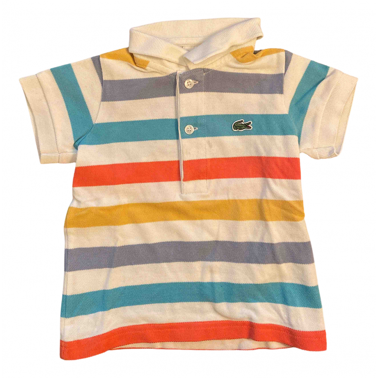 Lacoste N Multicolour Cotton  top for Kids 12 months - up to 74cm FR