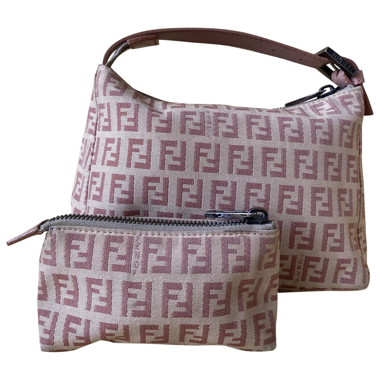 Fendi \N Pink Cloth handbag for Women \N