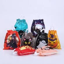 10 Stuecke Halloween Bonbonsverpackung