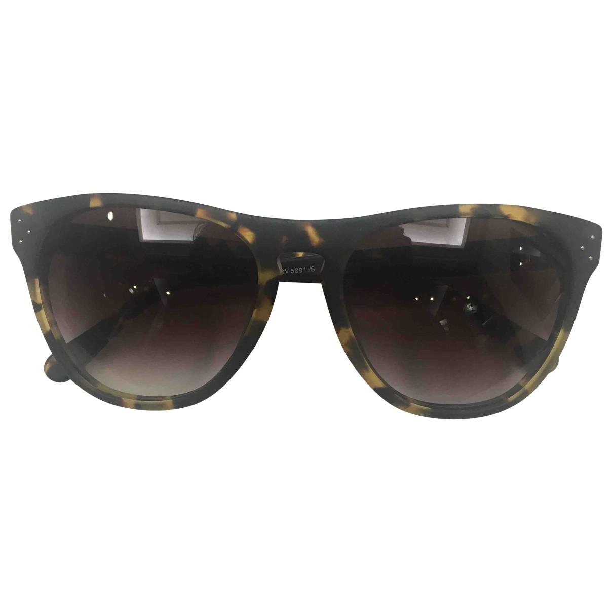 Oliver Peoples \N Brown Sunglasses for Men \N