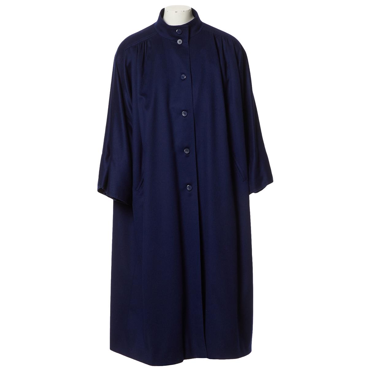 Dior N Navy Wool coat for Women 38 FR