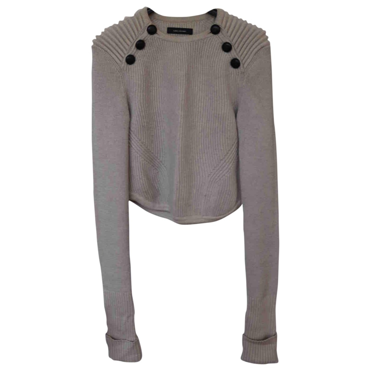 Isabel Marant - Pull   pour femme en laine - gris