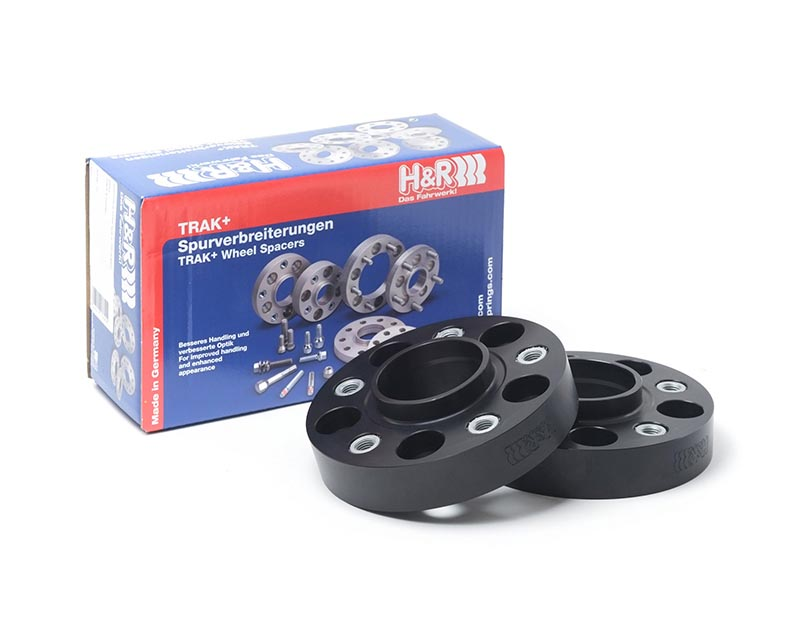 H&R 6055665 Trak+ | 5/112 | 66.5 | Bolt | 12x1.5 | 30mm | DRA Wheel Spacer Dodge SRT6 05-13