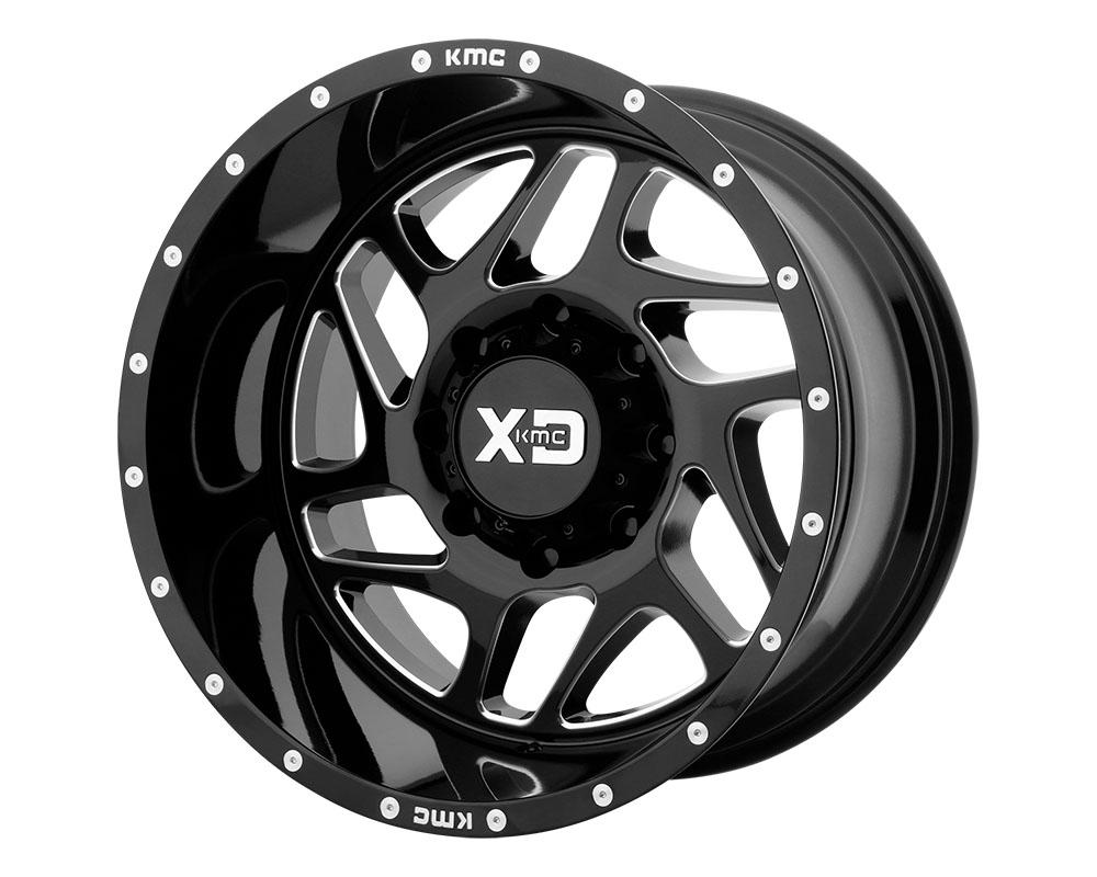 XD Series XD83629085318 XD836 Fury Wheel 20x9 5x5x139.7 +18mm Gloss Black Milled