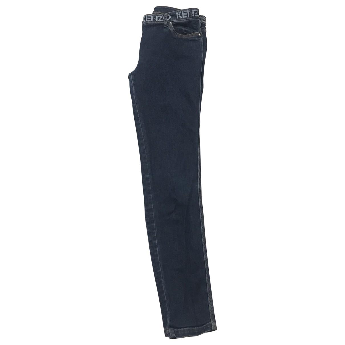 Kenzo \N Blue Denim - Jeans Jeans for Women 36 FR