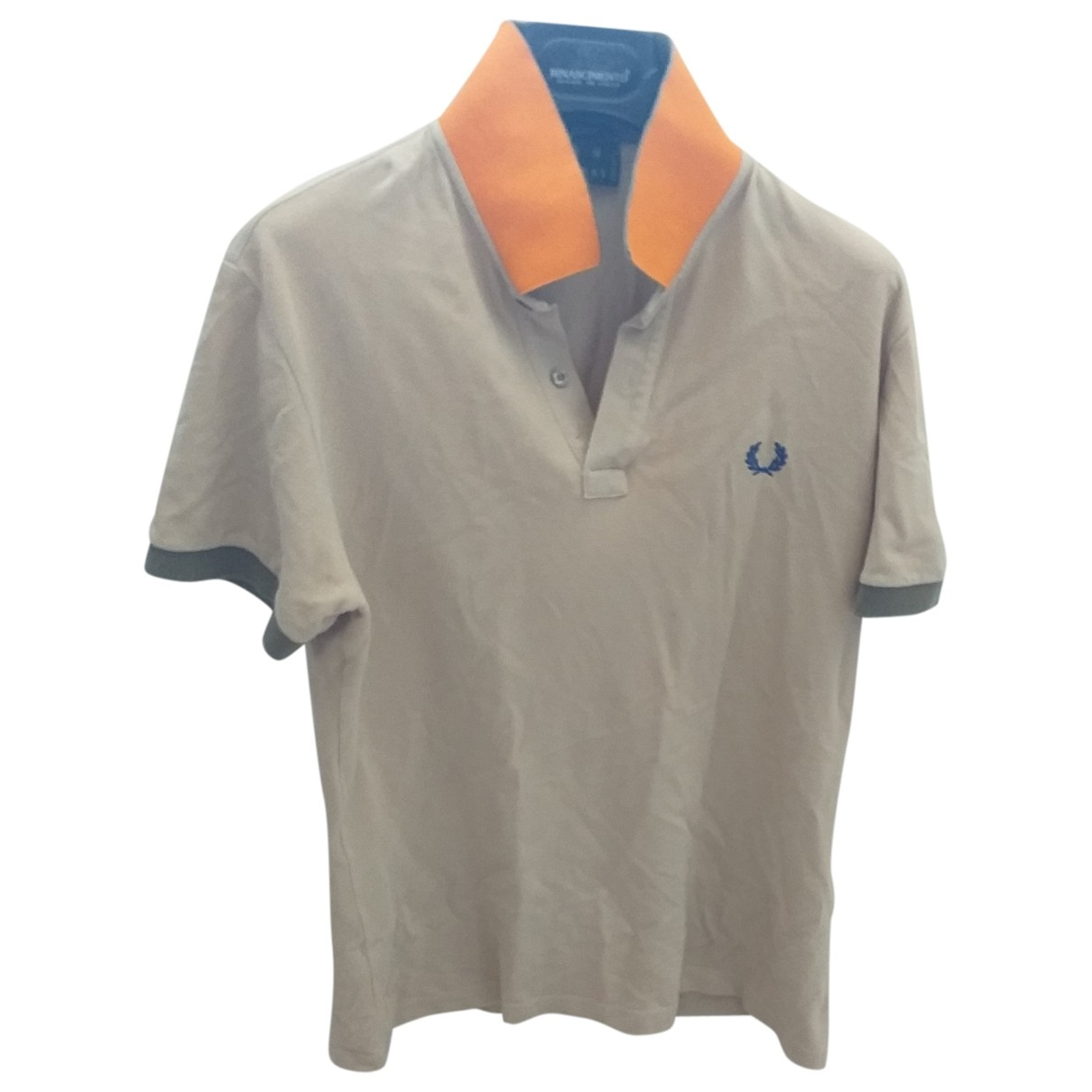 Fred Perry \N Poloshirts in  Beige Baumwolle