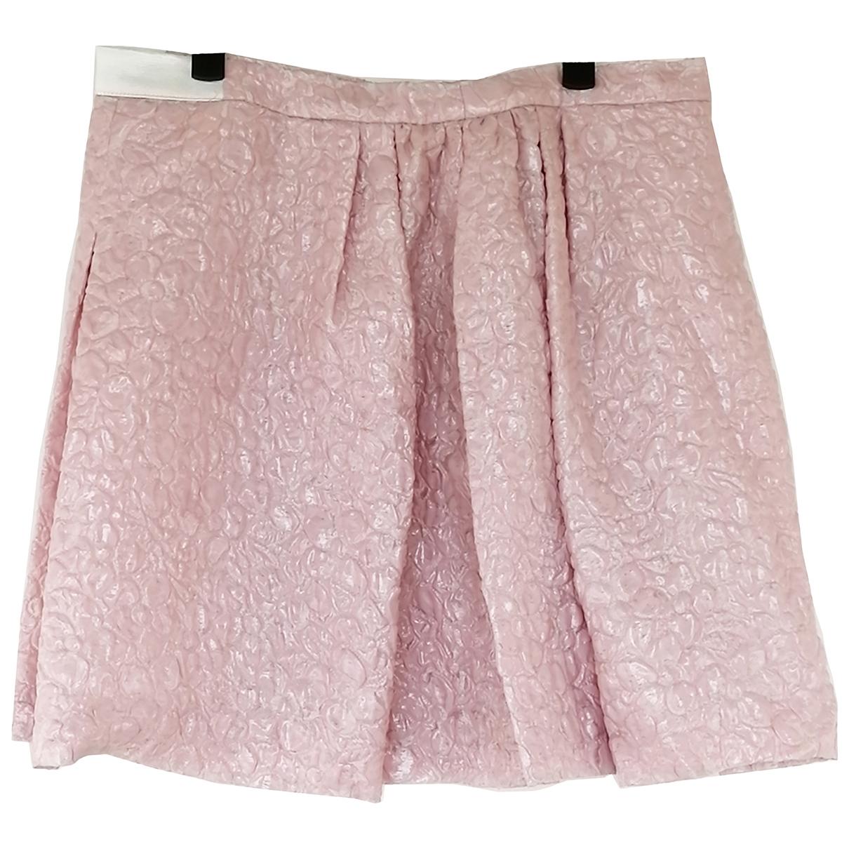 Giambattista Valli N Pink skirt for Women 42 IT