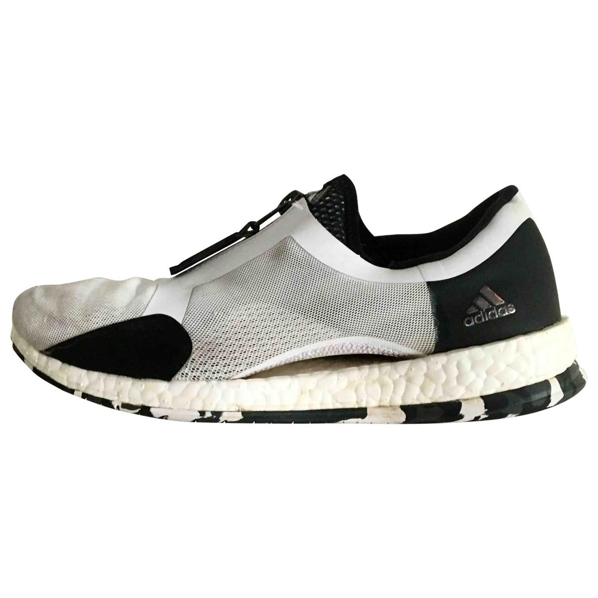 Adidas - Baskets PureBOOST pour femme en caoutchouc - blanc