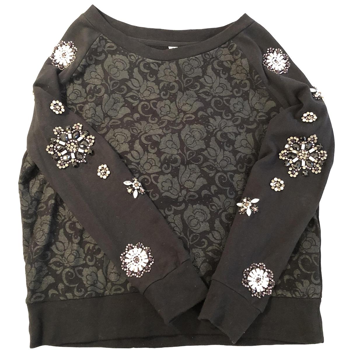 Twin Set - Pull   pour femme en coton - noir
