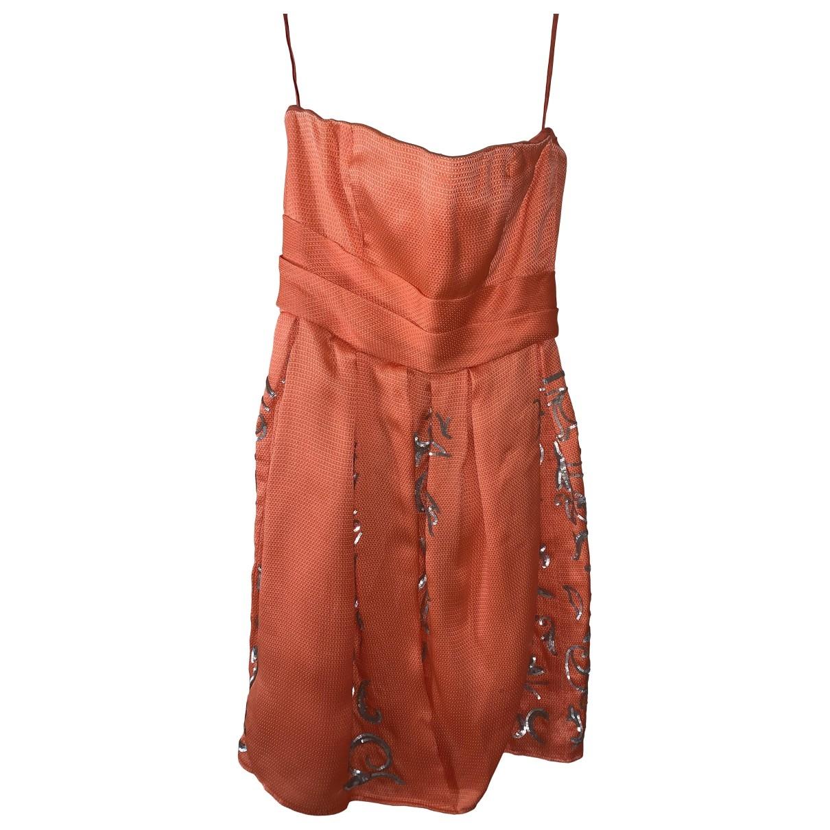 Mini vestido de Encaje Oscar De La Renta