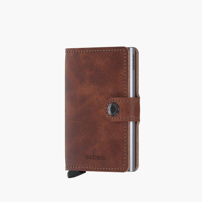 Secrid Miniwallet Vintage MV-Brown