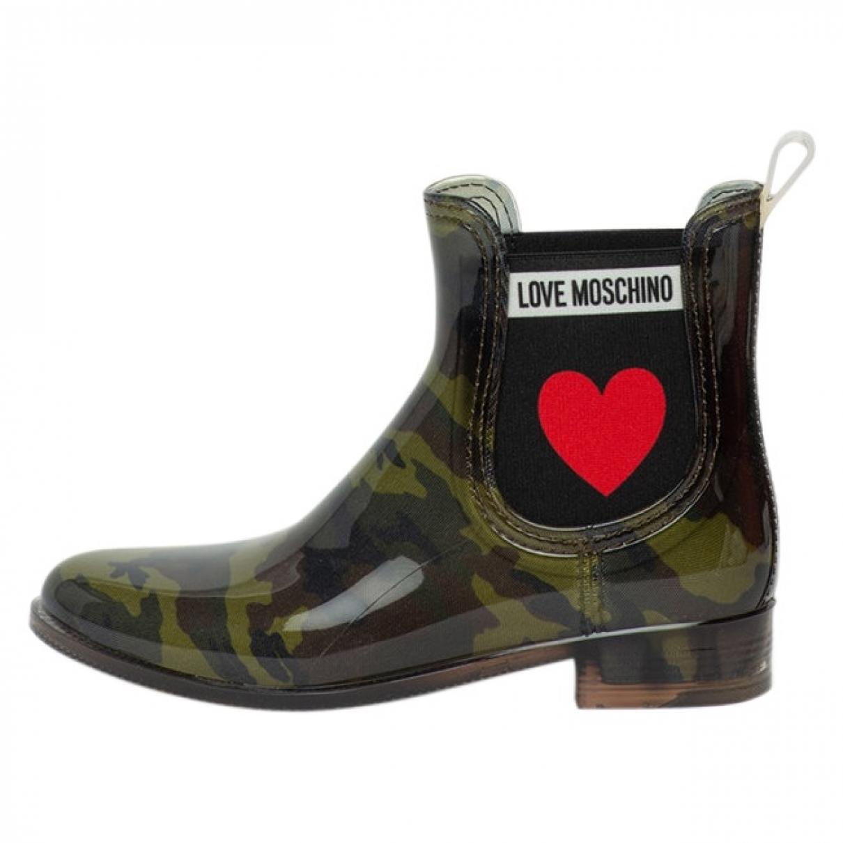 Botines Moschino Love