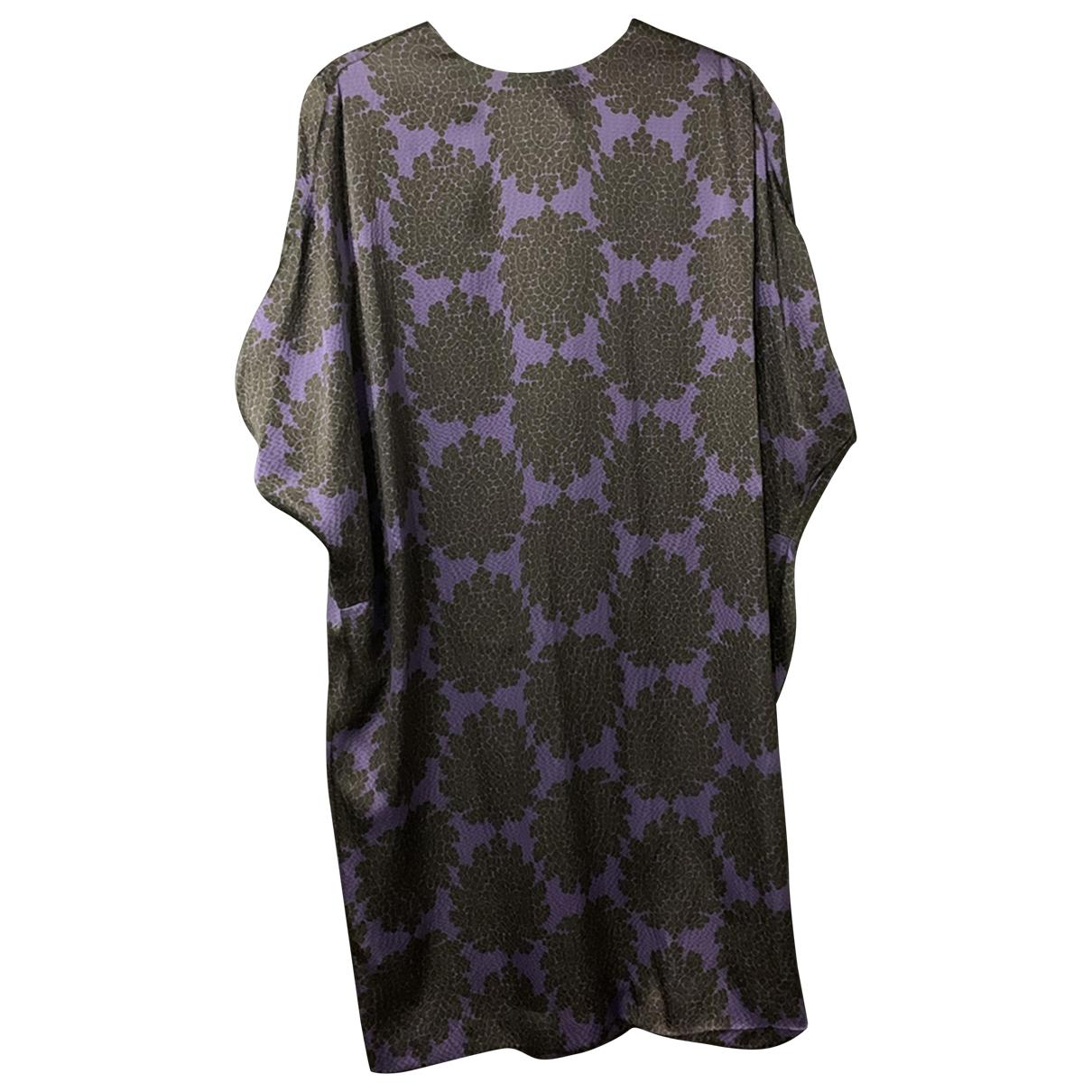 Tory Burch - Robe   pour femme en soie - violet