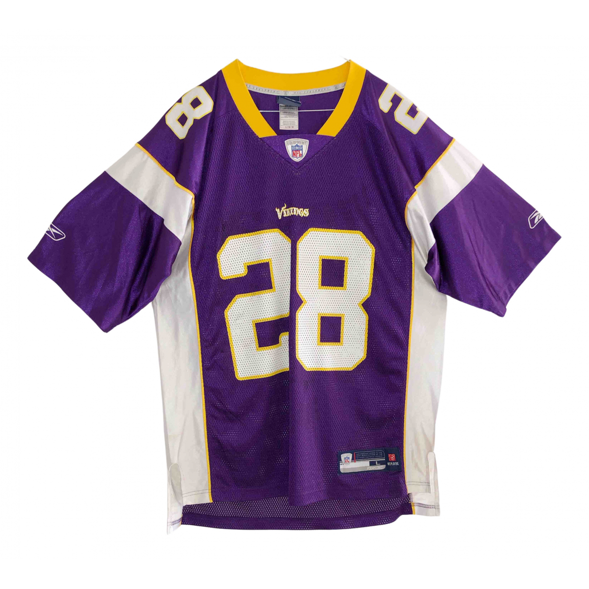 Nfl Team Apparel \N T-Shirts in  Lila Polyester
