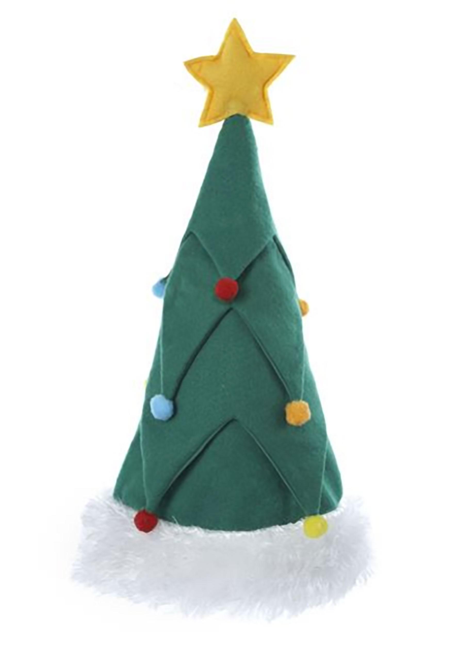 Christmas Tree Hat Felt