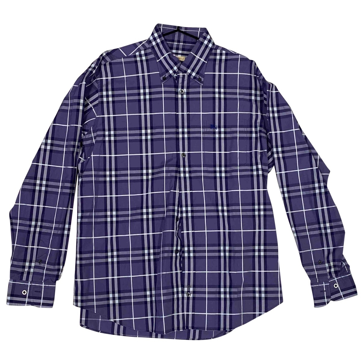 Burberry - Chemises   pour homme en coton - violet