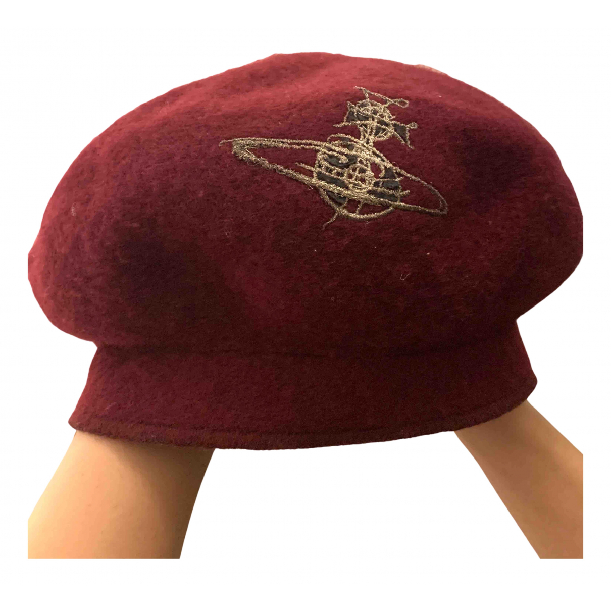 Vivienne Westwood \N Burgundy Wool hat for Women 57 cm