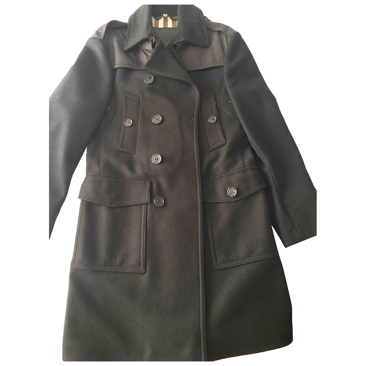 Burberry N Black Wool jacket  for Men 50 IT