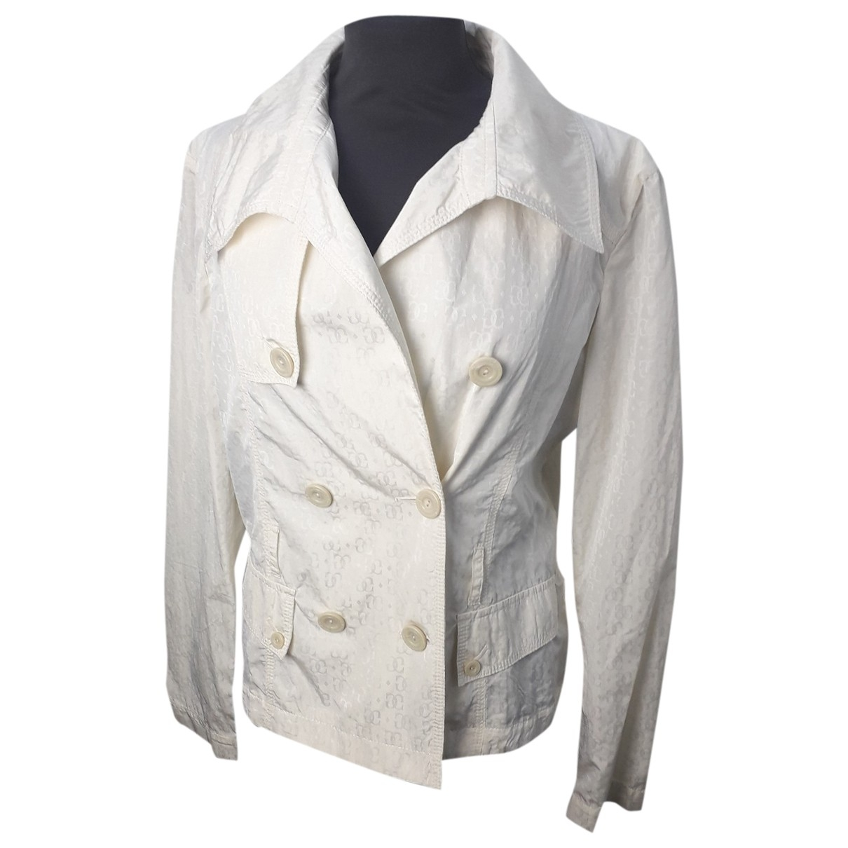 Guess \N White jacket for Women 46 IT
