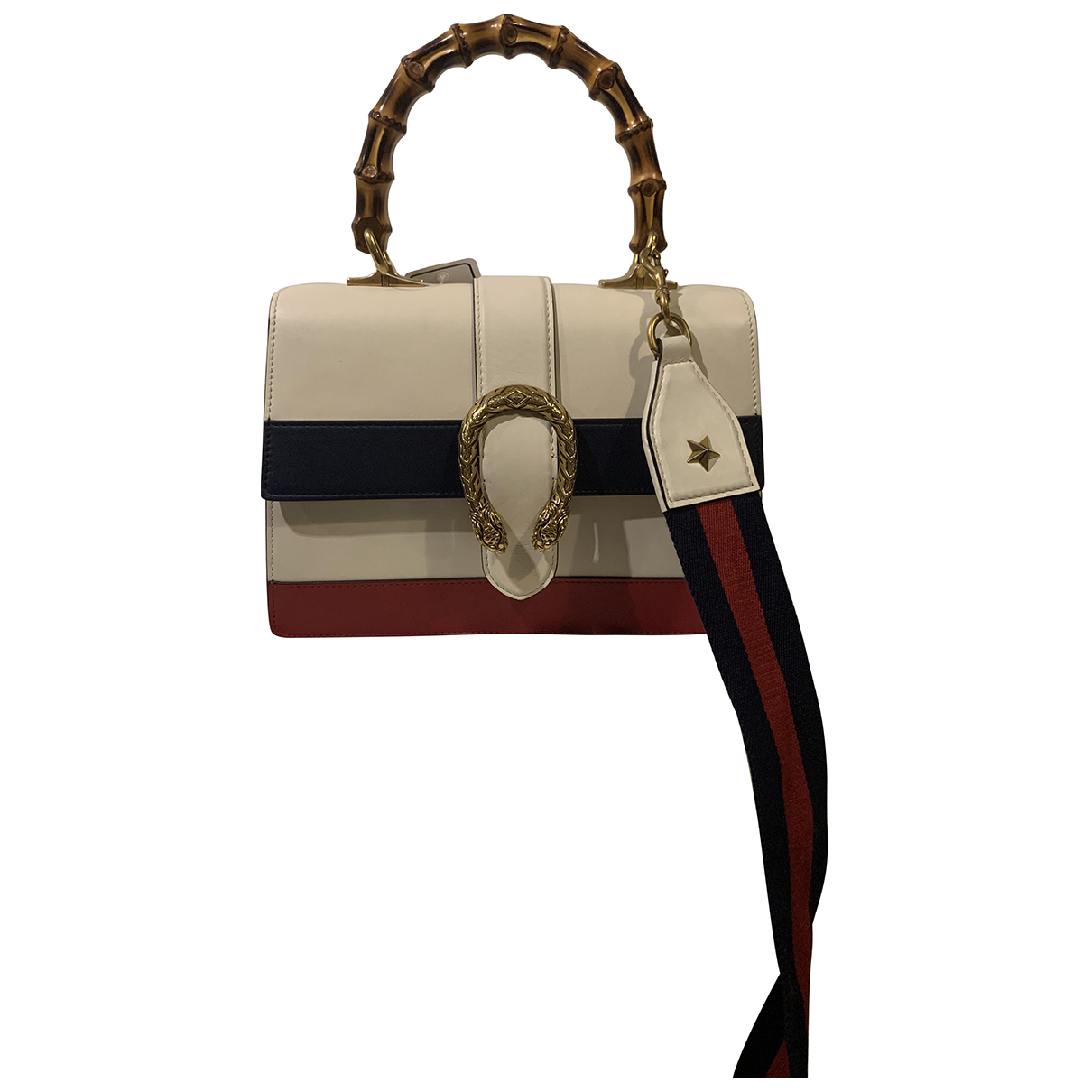 Gucci Dionysus White Leather handbag for Women N