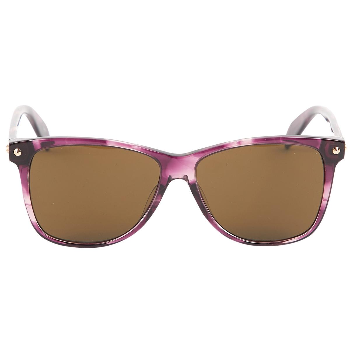 Alexander Mcqueen \N Purple Sunglasses for Women \N