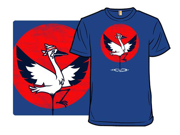 Crane Kick T Shirt