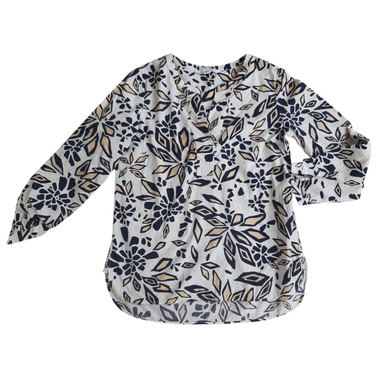 Diane Von Furstenberg \N White Cotton  top for Women 44 IT