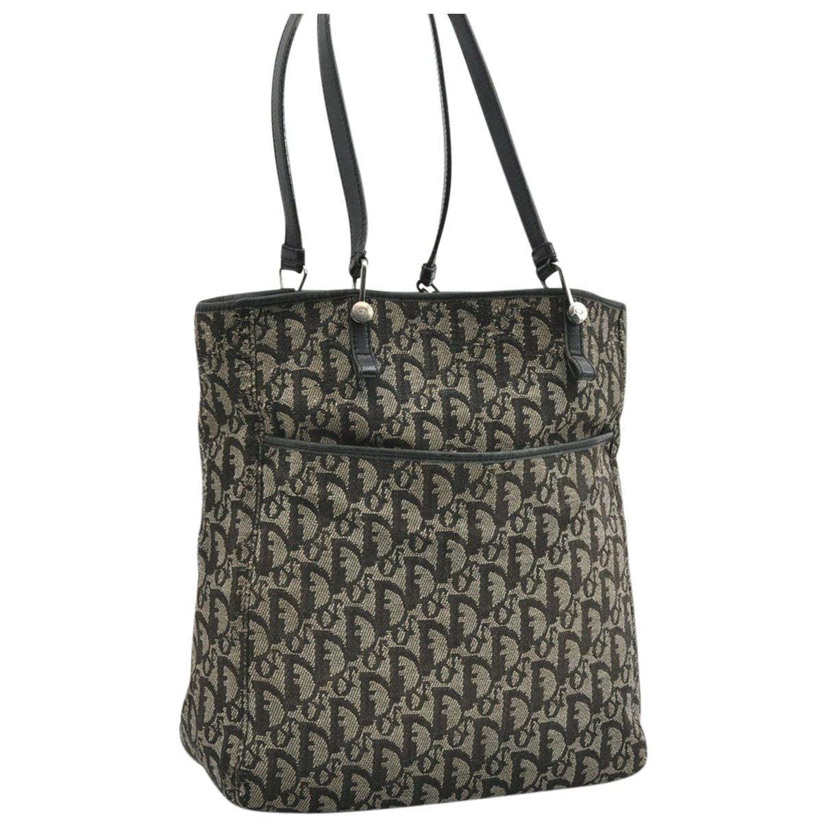Dior N Black Cloth handbag for Women N