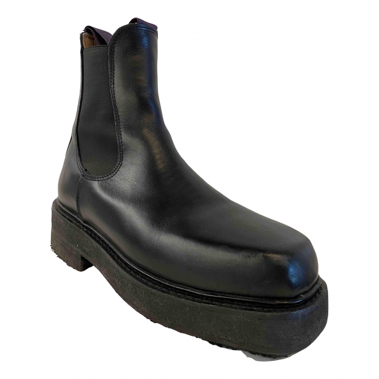 Eytys \N Black Leather Boots for Men 42 EU