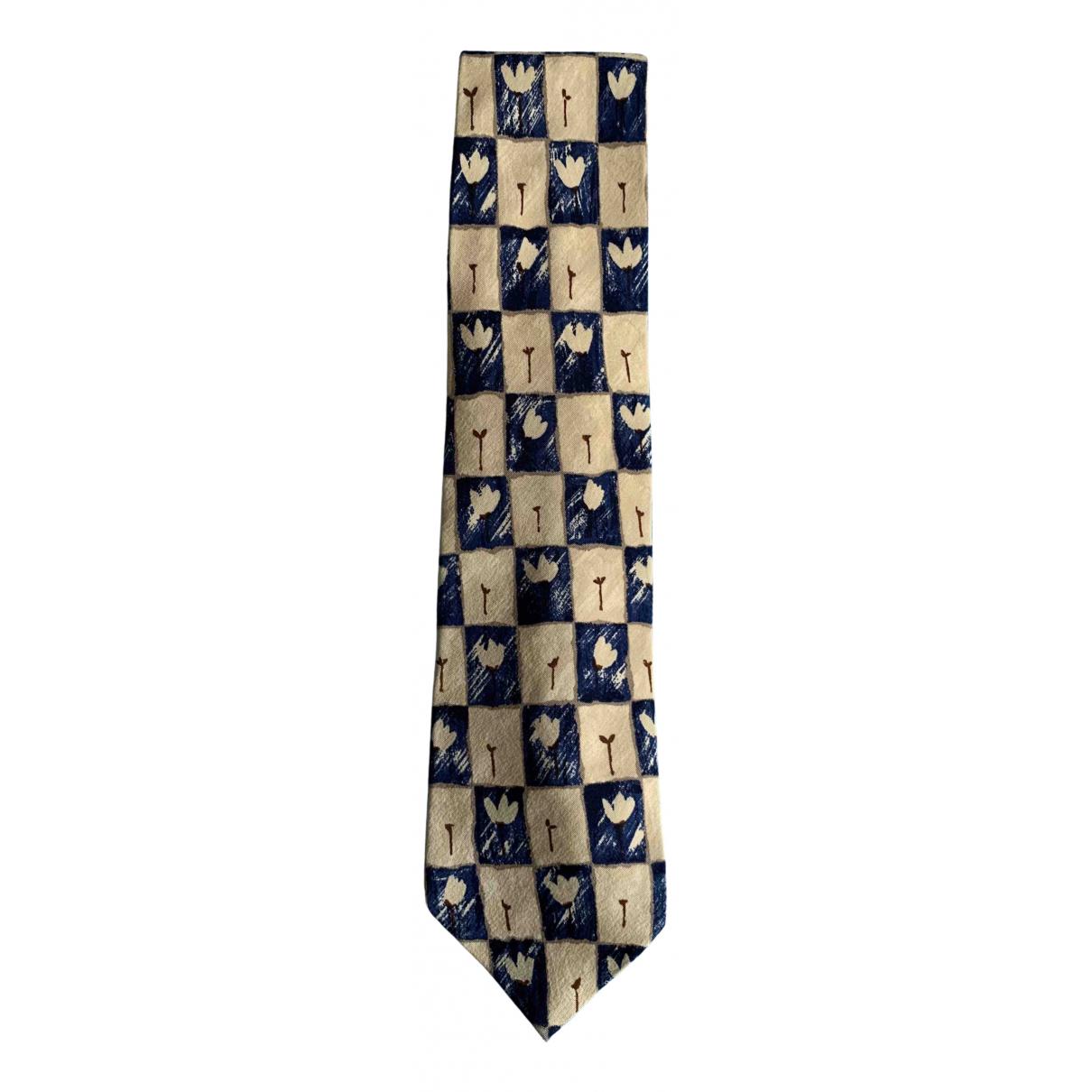 Boss \N Krawatten in  Beige Seide