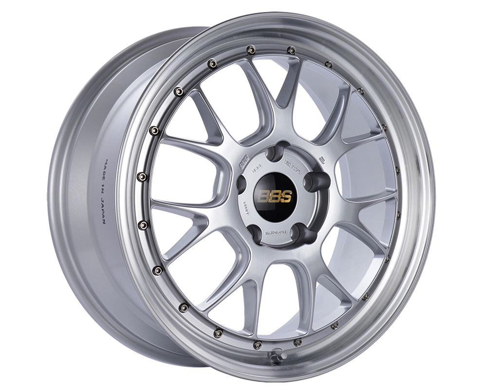 BBS LM-R Wheel 20x8.5 5x120 32mm Diamond Silver | Diamond Cut Rim