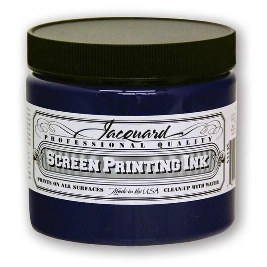 Jacquard Professional Screen Printing Ink, 16 oz in Royal Blue | Michaels®