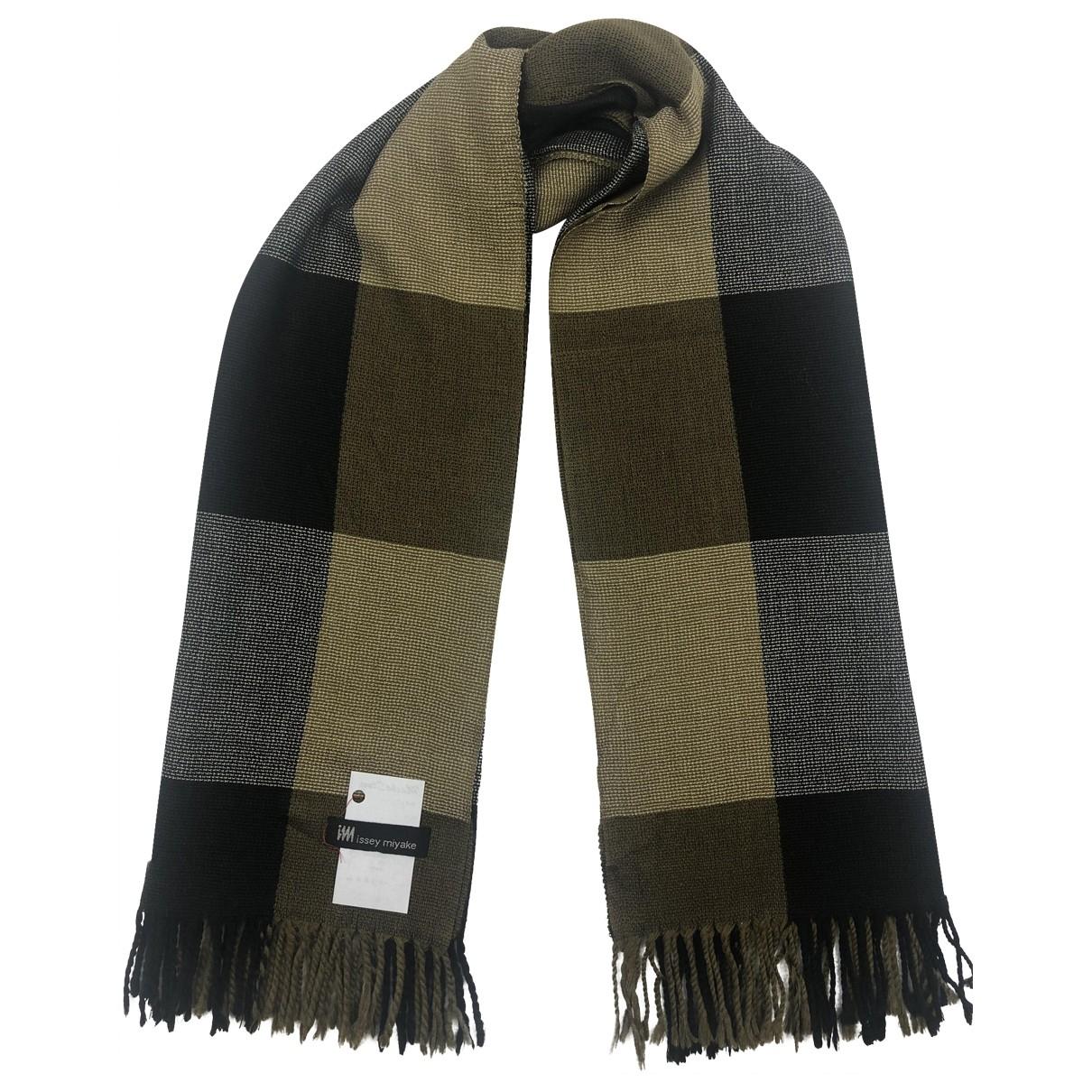 Issey Miyake \N Multicolour Wool scarf & pocket squares for Men \N