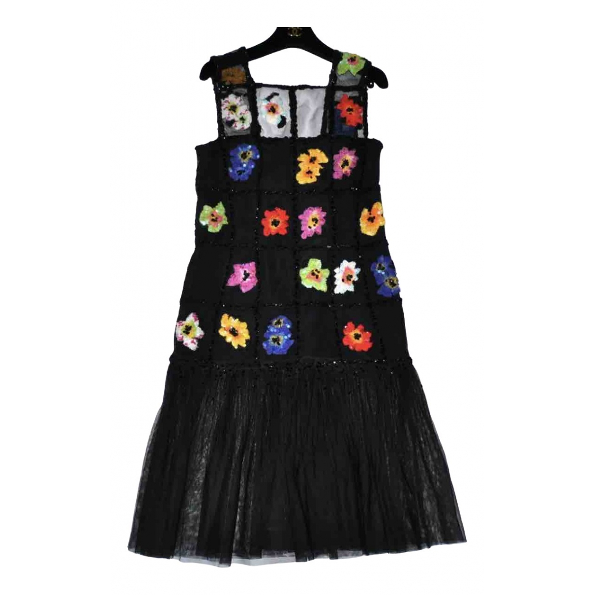 Chanel \N Kleid in  Schwarz Synthetik