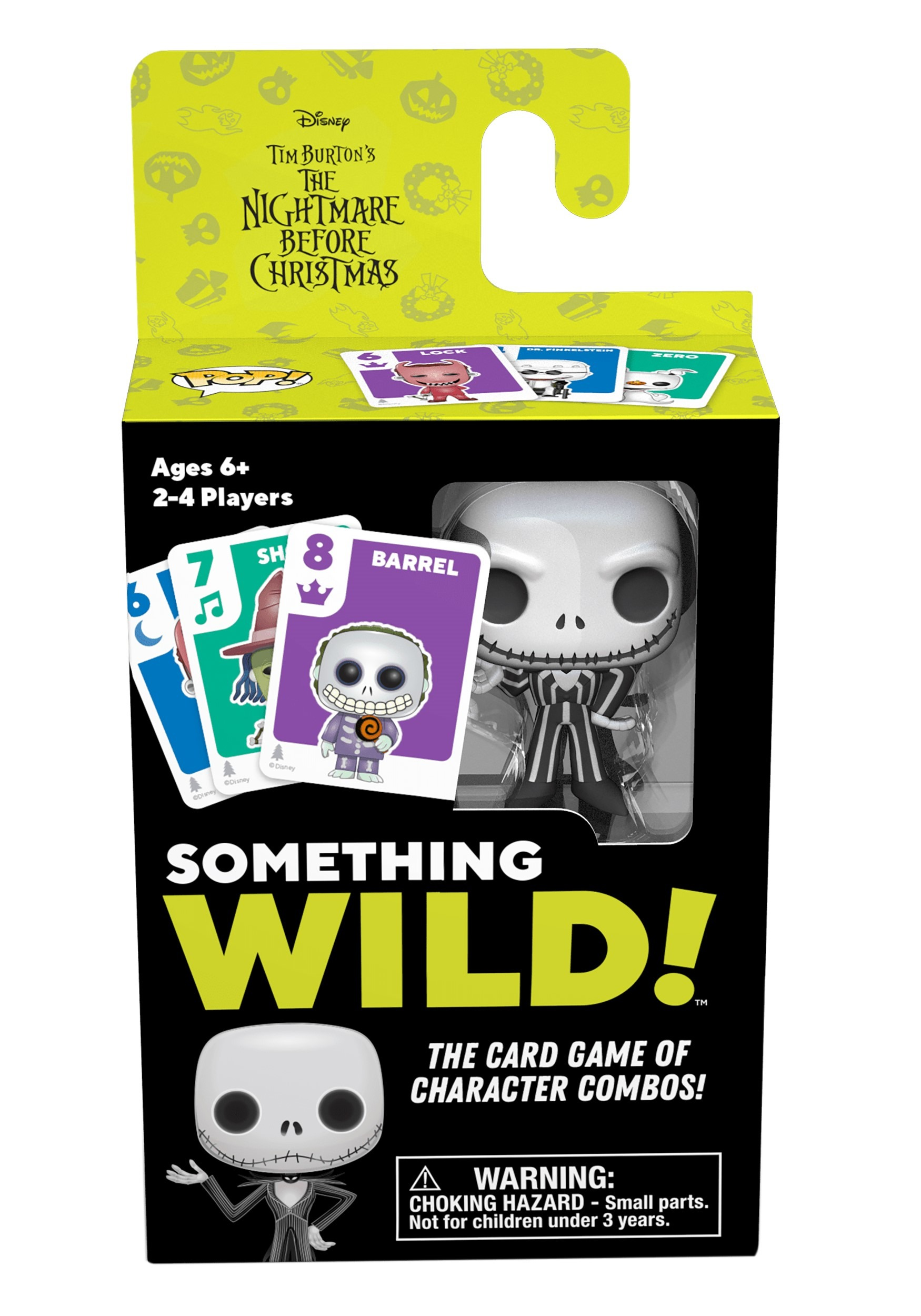 The Nightmare Before Christmas Signature Games: Something Wild Card Game