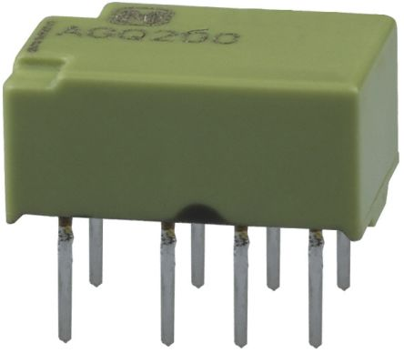 Panasonic DPDT PCB Mount Latching Relay - 1 A, 12V dc For Use In Signal Applications