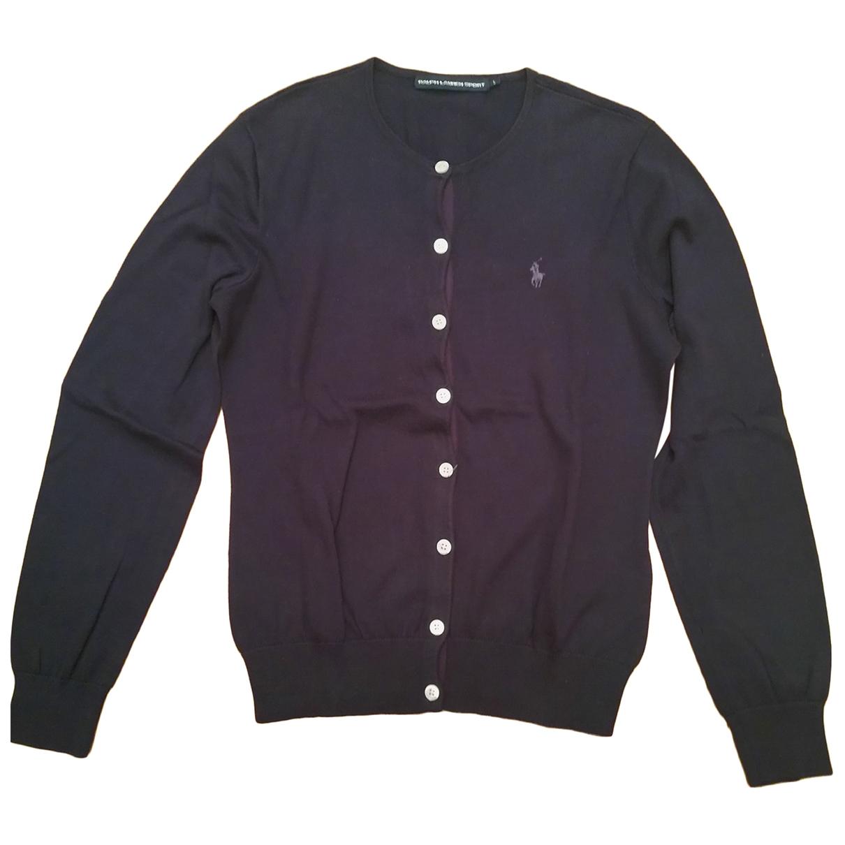 Ralph Lauren \N Blue Cotton Knitwear for Women L International