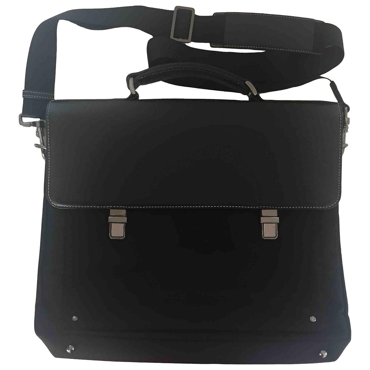 Le Tanneur \N Black Cloth bag for Men \N
