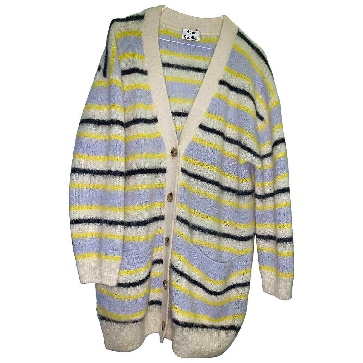 Acne Studios \N Yellow Wool Knitwear for Women XS International