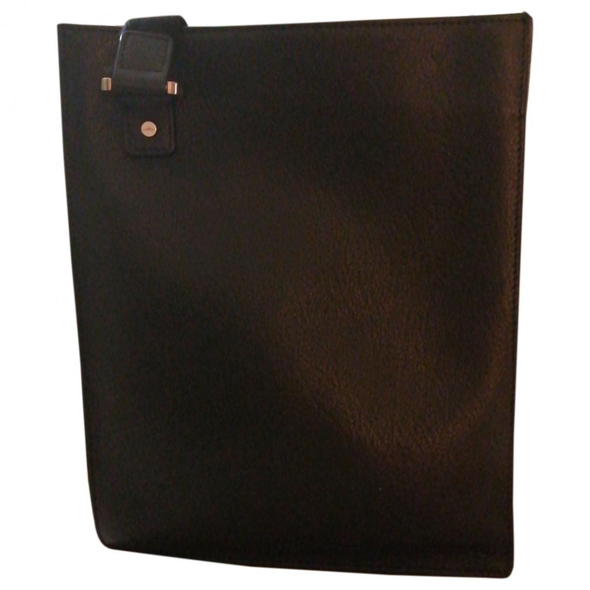 Delvaux \N Brown Leather bag for Men \N