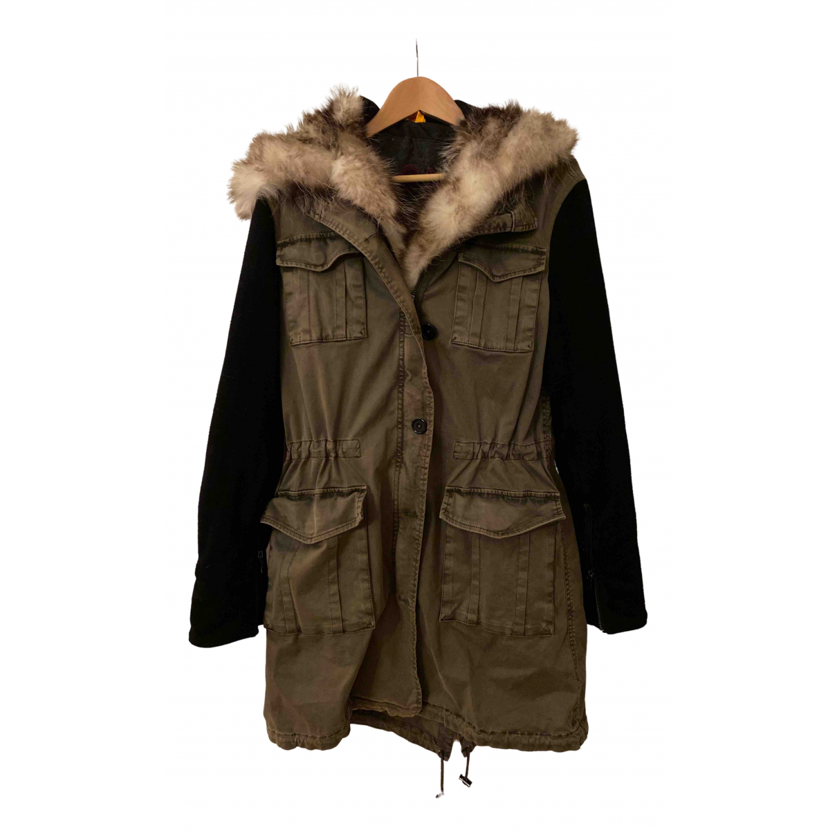 Blonde No.8 N Khaki Cotton coat for Women 38 FR