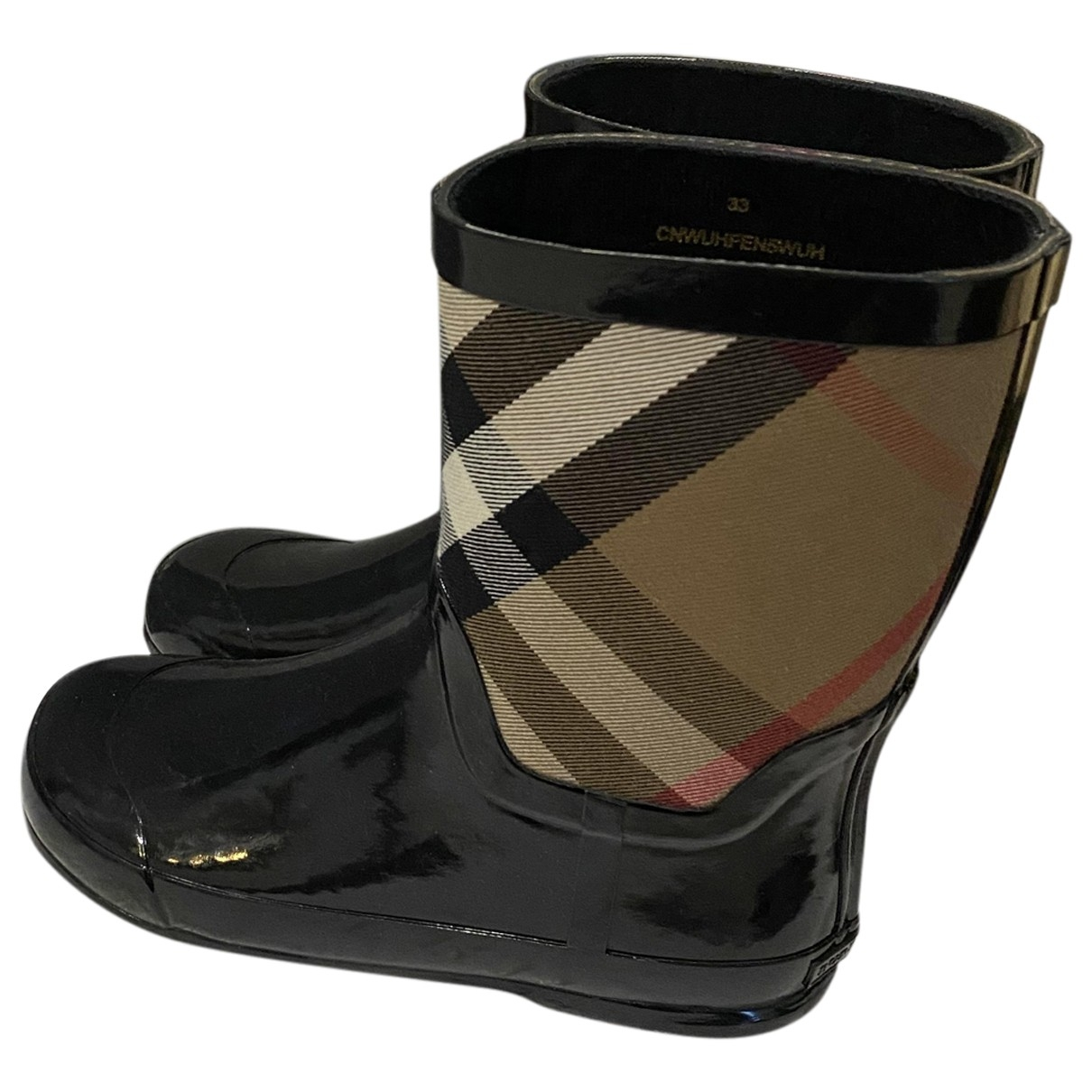 Burberry \N Beige Rubber Boots for Kids 33 EU