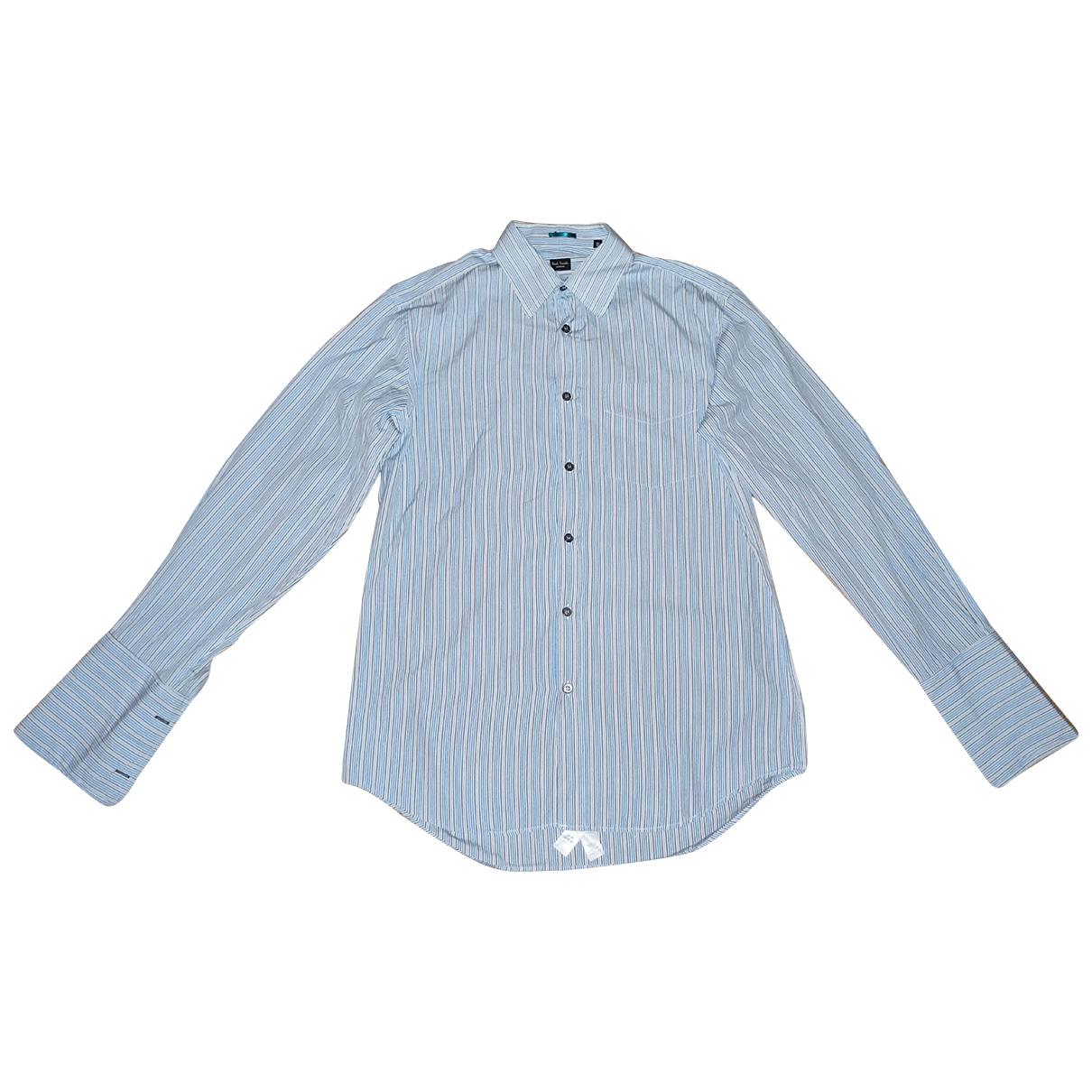 Paul Smith N Cotton Shirts for Men 38 EU (tour de cou / collar)