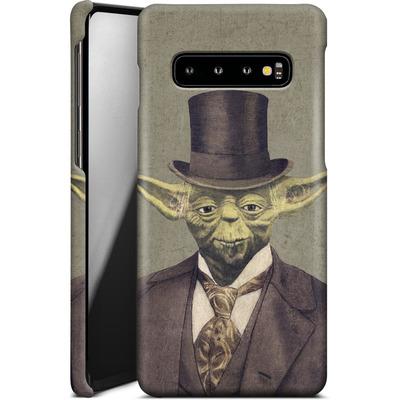 Samsung Galaxy S10 Smartphone Huelle - Sir Yodington von Terry Fan