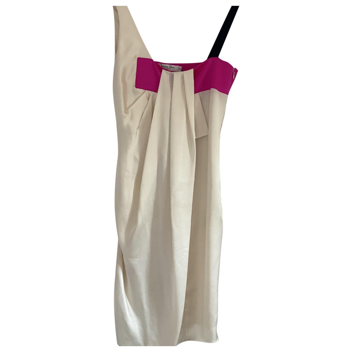 Mini vestido de Seda Christian Dior