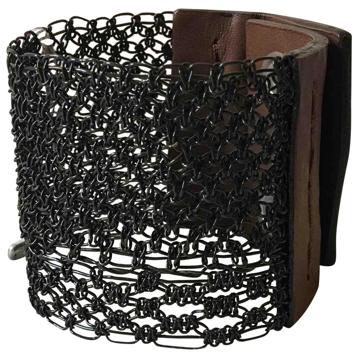 Marni - Bracelet   pour femme en metal - marron