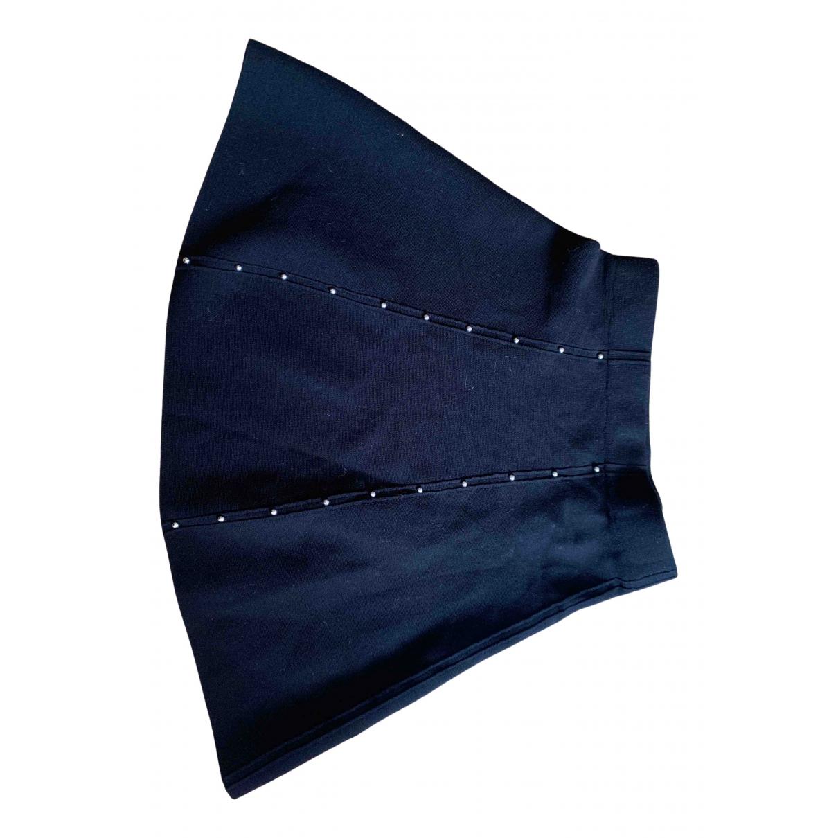Mini falda de Lana Zara