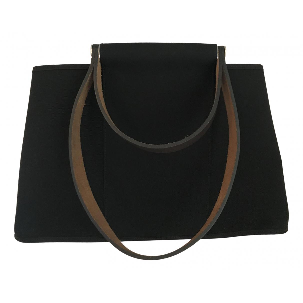 Hermès Cabag Black Cloth handbag for Women \N
